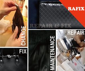 大阪で財布修理・鞄修理・バック修理の事ならRAFIX大阪